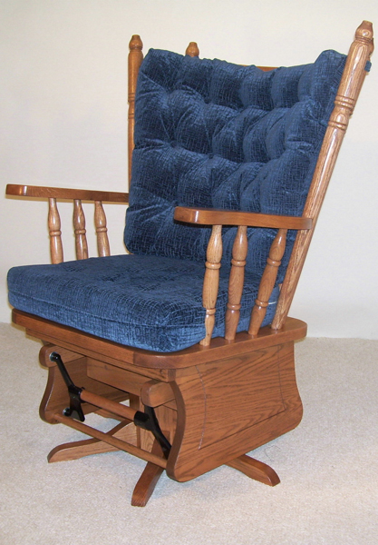 4 Post Low Back Glider Town Amp Country Furniture