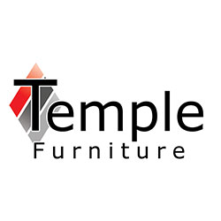 The logo for Temple Furniture.