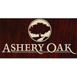 The logo for Ashery Oak.