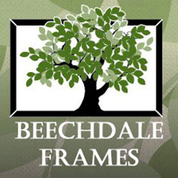 The logo for Beechdale Frames.