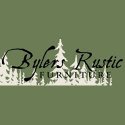 The logo for Bylers Rustic.