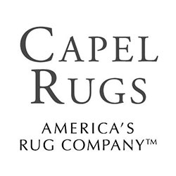 The logo for Capel Rugs.