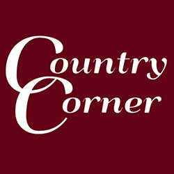 The logo for Country Corner.