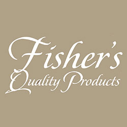 The logo for Fishers Quality Products.