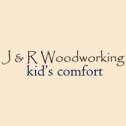 The logo for J & R Woodworking.