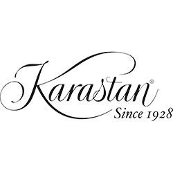 The logo for Karastan.