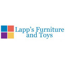 The logo for Lapp's Furniture and Toys.