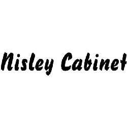 The logo for Nisley Cabinet.