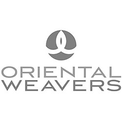 The logo for Oriental Weavers.