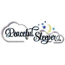 The logo for Peaceful Sleeper.