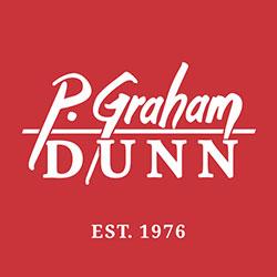 The logo for P. Graham Dunn.