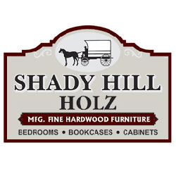 The logo for Shady Hill Holz.