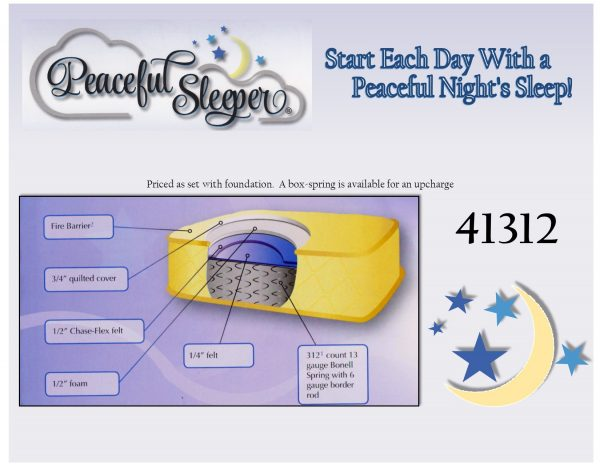 Peaceful Sleeper 41312