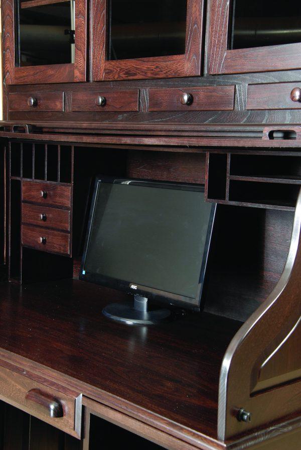 Computer Rolltop Desk