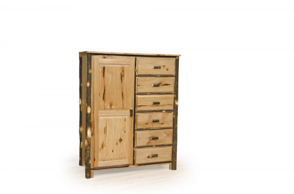 Rustic Hickory Bedroom Suite
