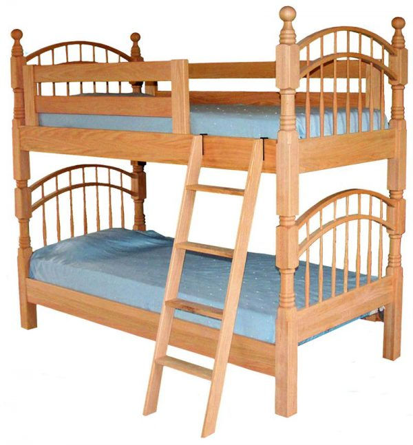 Double Bow Bunk Beds