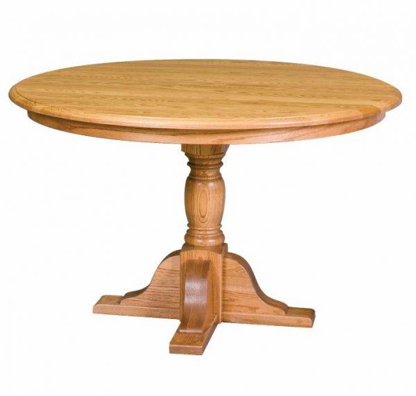 Round Innkeeper's Pedestal table