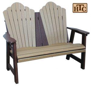 Snuggleback Park Bench