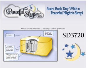 Peaceful Sleeper SD3720