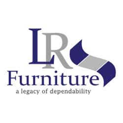 The logo for LR Furniture