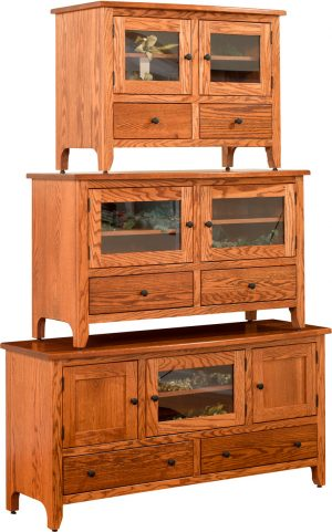 Ashery Shaker Economy TV Stands